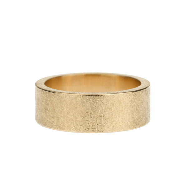 Todd Reed - Brushed Rose Gold Band, Mens Wedding Band