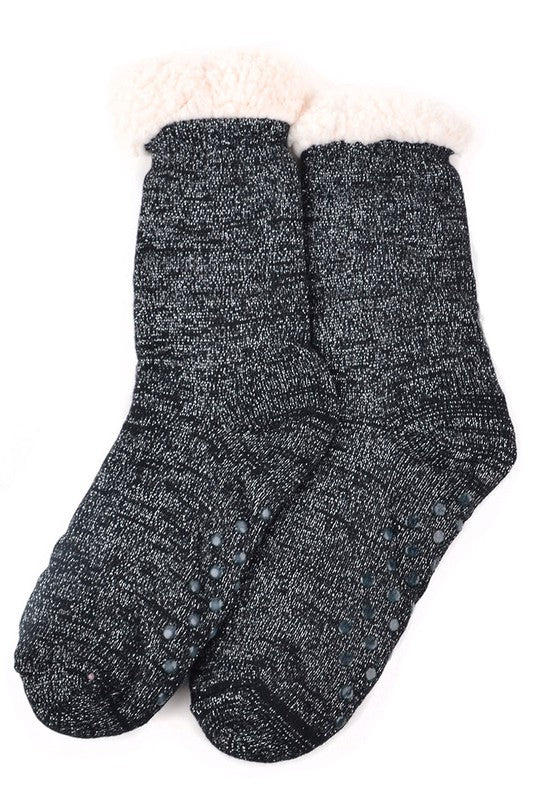 Jana Sherpa Slipper Socks
