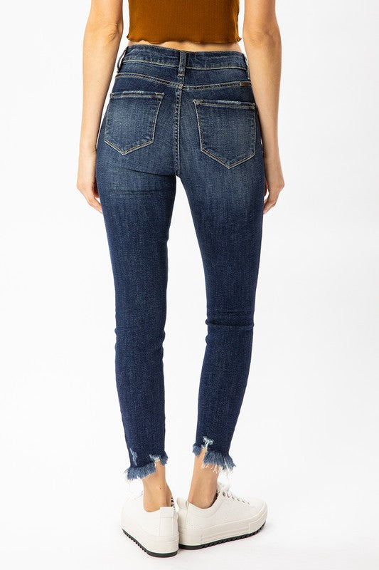 Jen High Rise Ankle Skinny Jeans