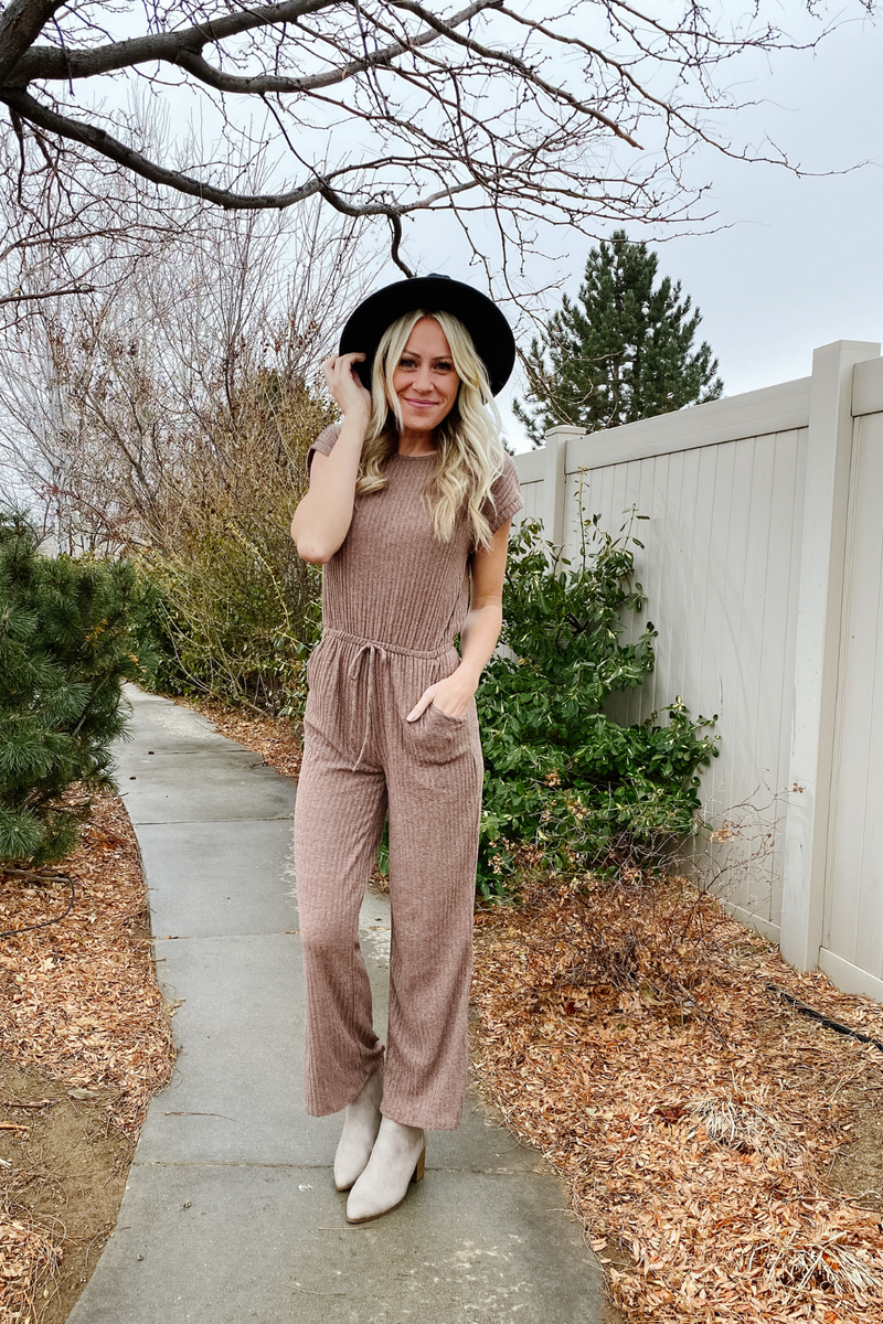 Sawyer Ribbed Jumpsuit