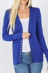 Peyton Snap Button Cardigan