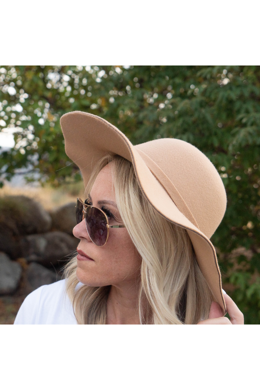 Arely Wide Brim Hat