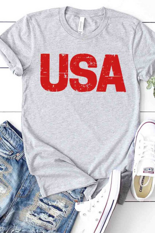 Tie Dye USA Graphic Tee