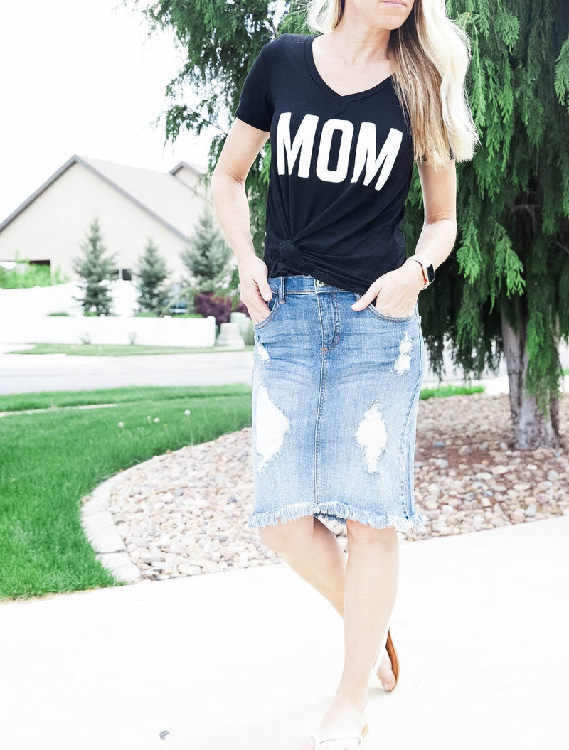 Sam Denim Skirt