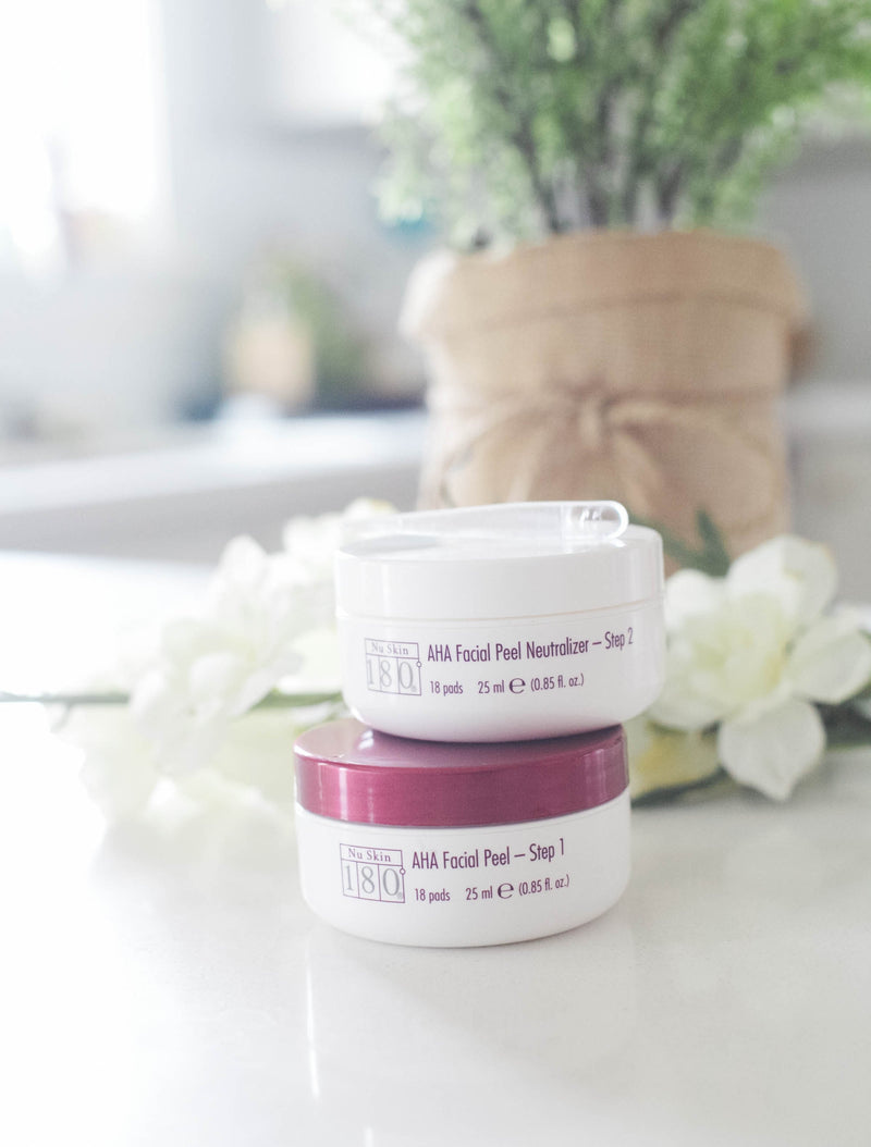 AHA Facial Peel and Neutralizer