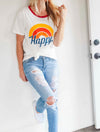 Happy Graphic Tee