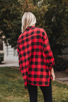 Emmy Plaid Oversized Top