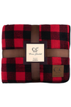 Hattie Buffalo Check Crossbody Clutch Bag