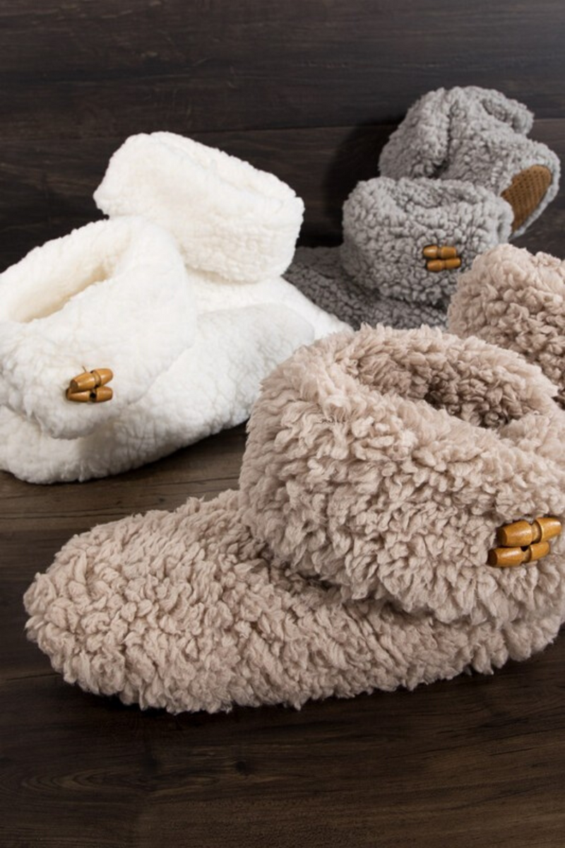 Kailee Sherpa Slippers PRE-ORDER 12/12