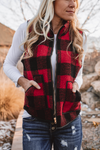 Gentle Breeze Plaid Jacket