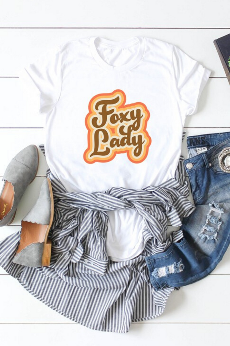 Foxy Lady Graphic Tee