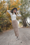 Isabel Knit Sweater Skirt