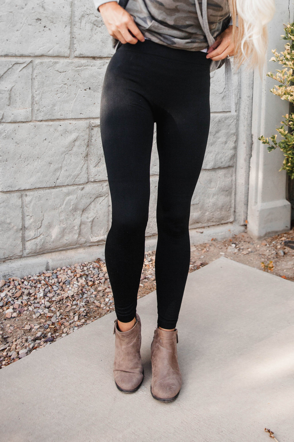 Remi Fleece Leggings (One Size)