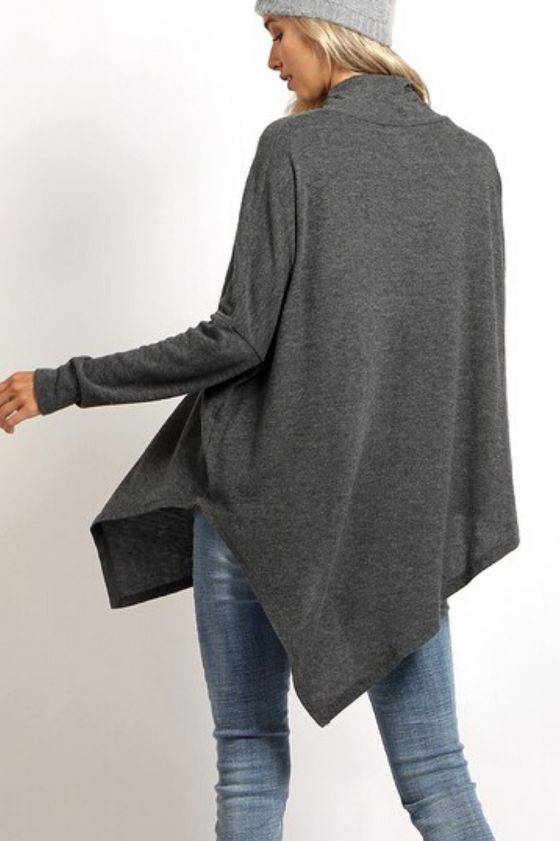 Norah Poncho Style Top