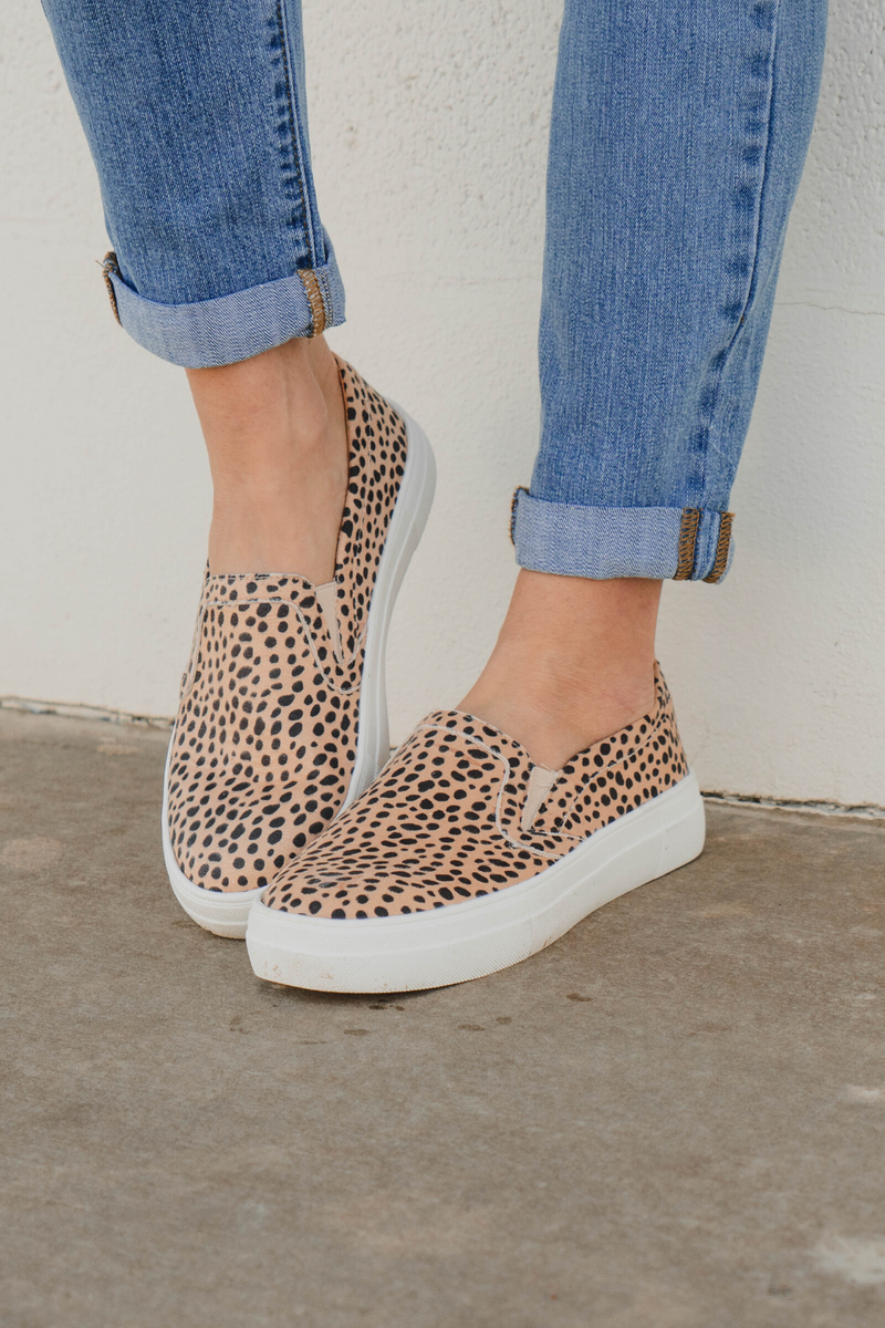 Maisie Cheetah Sneakers