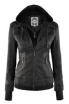 Riley Faux Leather Jacket