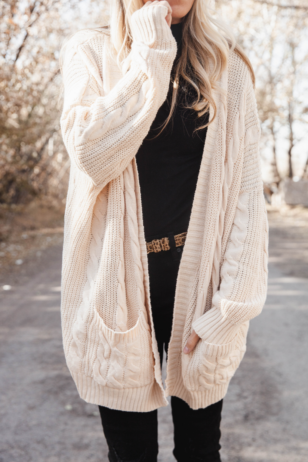 Brielle Chunky Knit Cardigan