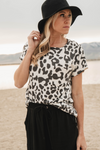 Leopard Rock n Roll Babe Graphic Tee