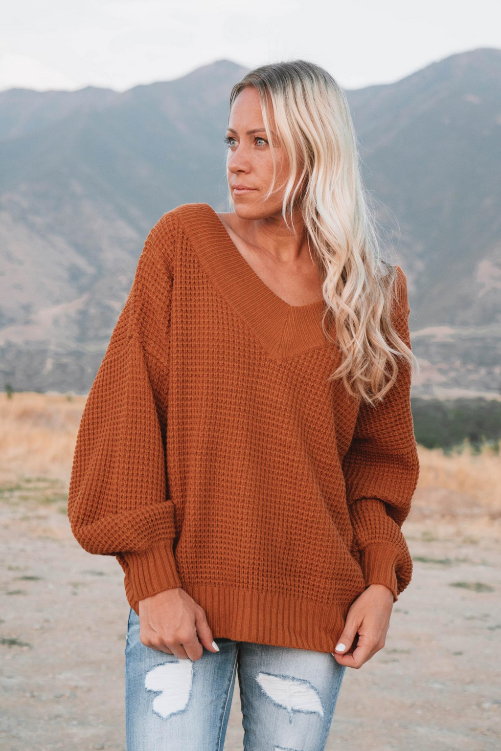 Charly V-Neck Sweater