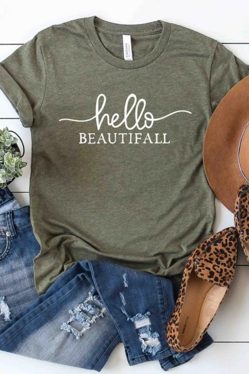 Hello BeautiFALL Graphic Tee - PRE ORDER 8/15/20