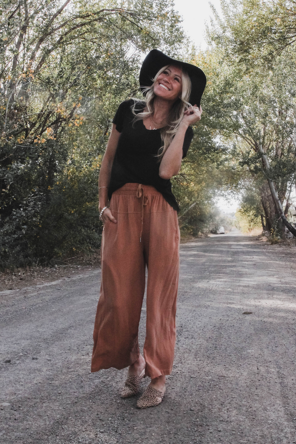 Novah Wide Leg Pants