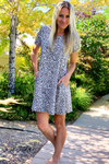 Anne Animal Print Dress