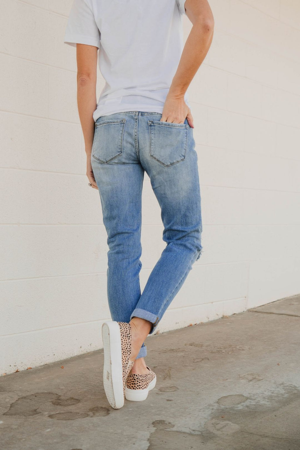 Haley Light Wash Jeans