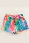 Julie Camo Drawstring Shorts