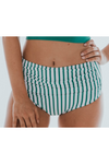 Taylor Striped Swimsuit Bottoms