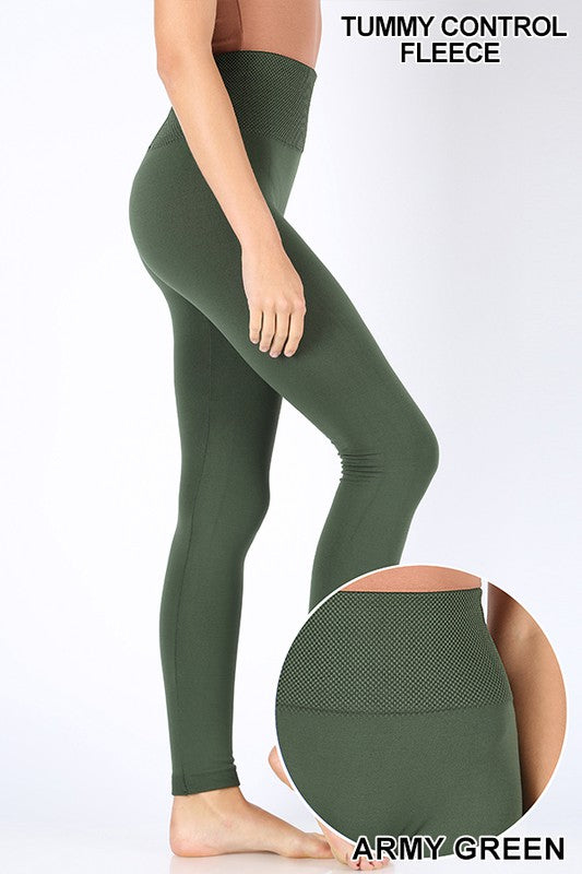 Bobbi High Waist Fleece Leggings