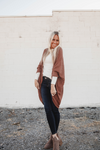 Willow Waffle Knit Slouchy Cardigan