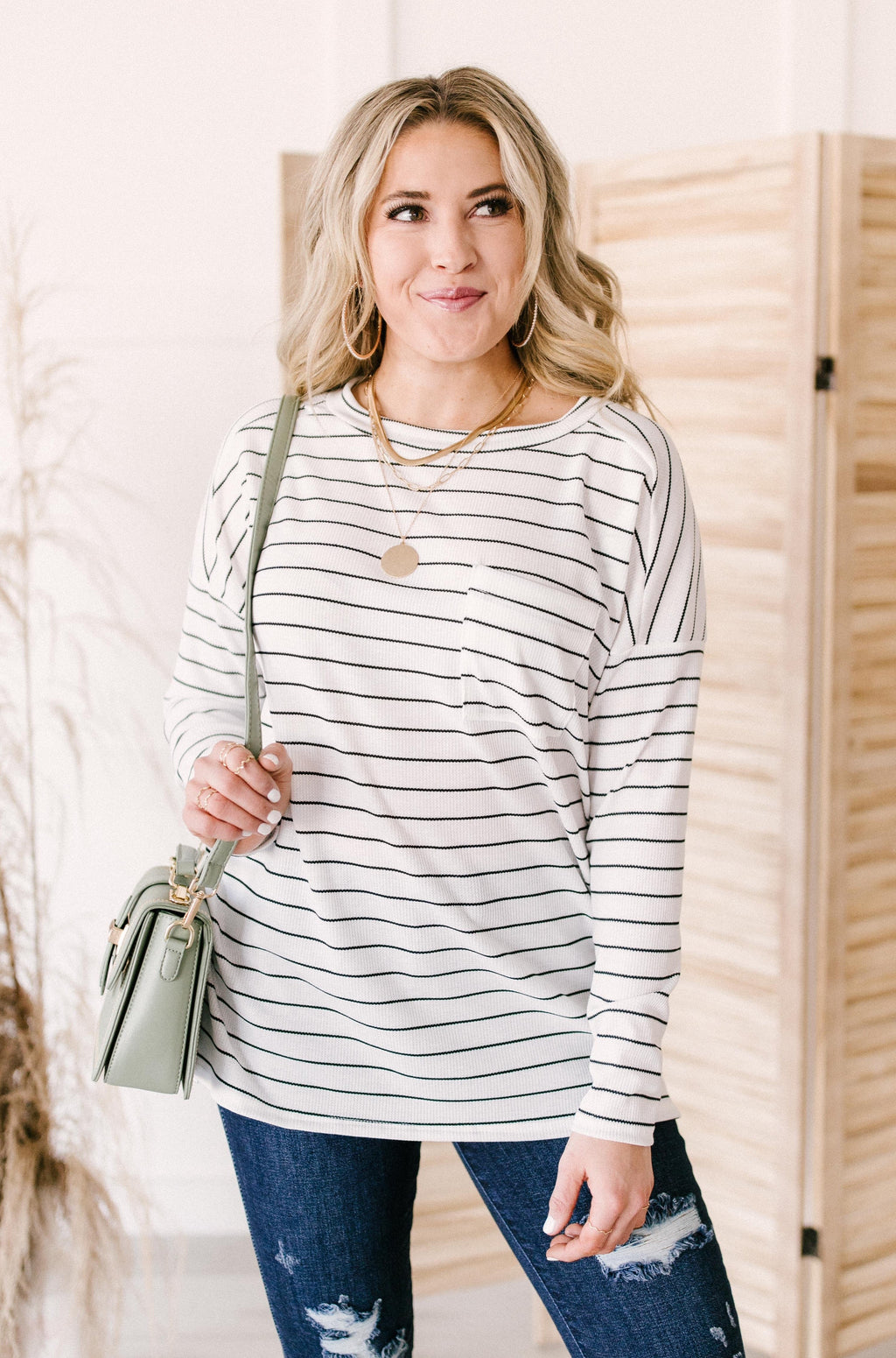 Ada Striped Top