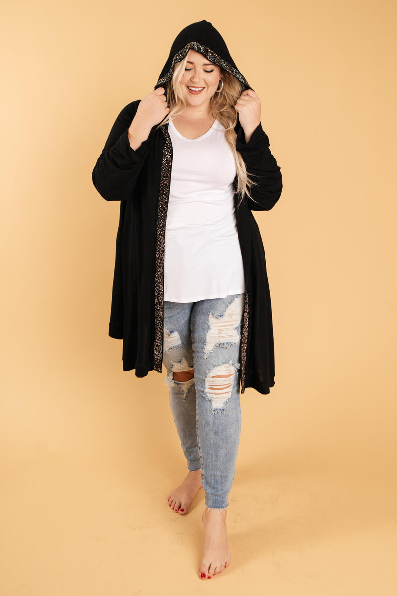 Aria Hooded Cardigan