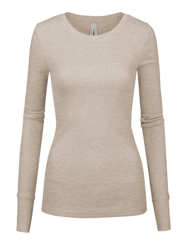 Camila Thermal Long Sleeve Top