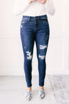 Aria Plain And Perfect Medium Wash Jeans- only size 5 left!