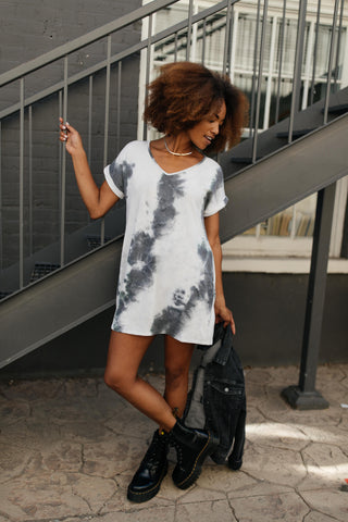 Sammie Tie Dye Midi Dress