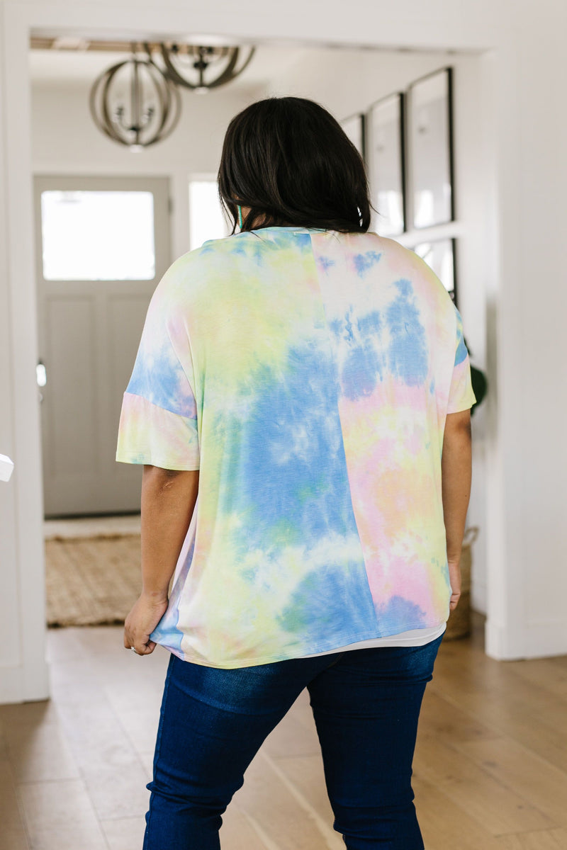 All Choked Up Tie Dye Top