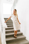 Born To Fashion Dress Ivory + Black