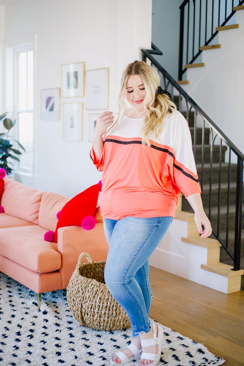 Coraline Colorblock Top