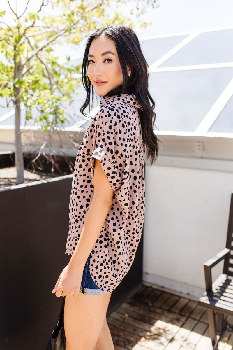 Spotty Connection Blouse