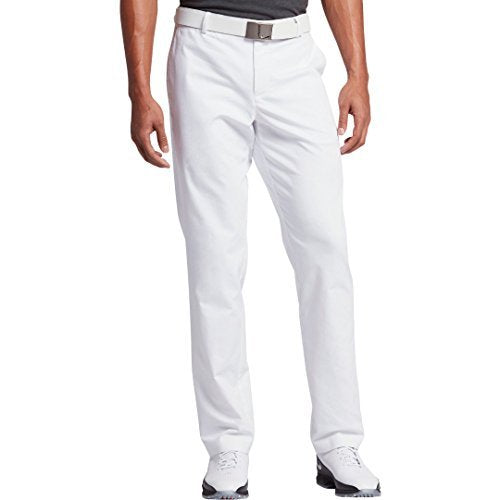 "Nike Men's Modern Fit Washed Golf Pants, White, 34"" / 30"""