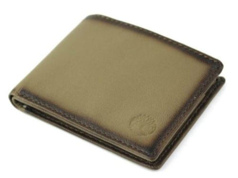Timberland Genuine Leather Bifold Passcase Wallet Gift Box, Modern Brown