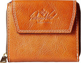 Patricia Nash Clarissa Wallet, Premium Genuine Leather, Tan Collection