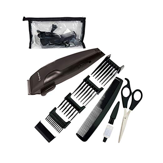 Impress Professional 11 Piece Taper Touch Hair Cutting Kit, Clippers, Scissors +