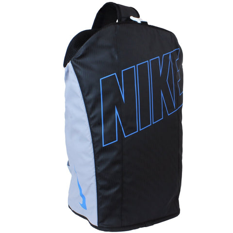 Nike Alpha Adapt Crossbody Duffel Bag, Black/Blue/Grey