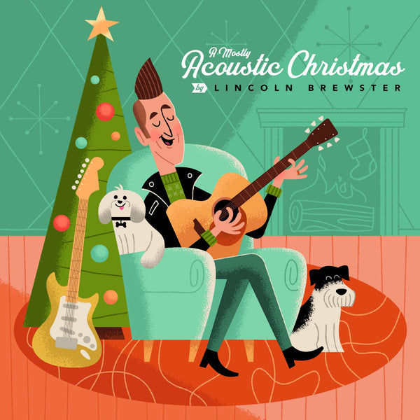 A Mostly Acoustic Christmas CD