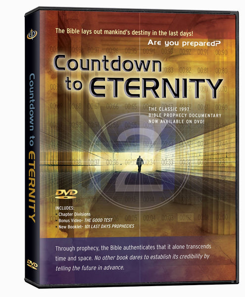 COUNTDOWN TO ETERNITY DVD - Timeless International Christian Media - Re-vived.com