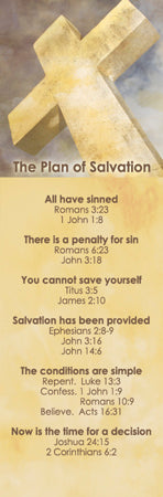 Plan Of Salvation Bookmark (Pack of 25)