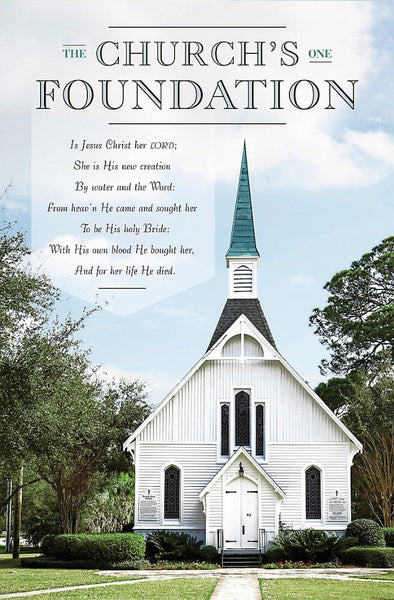 The Church's One Foundation Bulletin (Pack of 100)