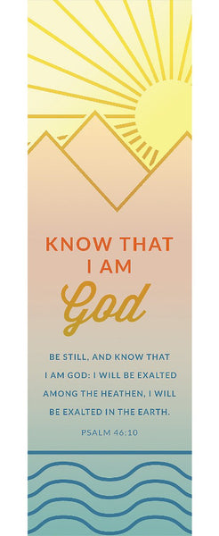 Know That I Am God Bookmark (Pack of 25)